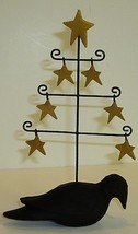 Primitive Star Tree with Crows - $5.95