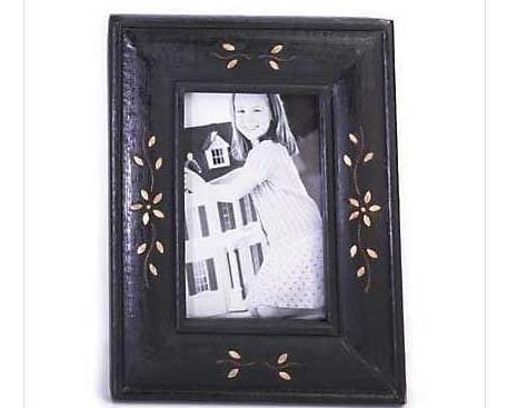 Wooden Table Top Picture Frame