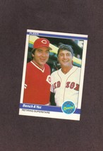 1984 Fleer # 640 Johnny Bench Carl Yastrzemski - $1.00