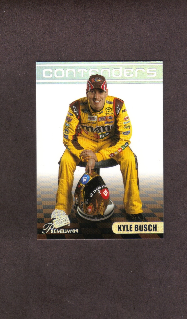 2009 Press Pass Premium # 16 Kyle Busch