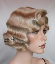 Quality Fingerwave Wig - Rose.  Color 22 - Blonde  BEST SELLER - $234.99