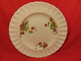 """8 7/8"""" Luncheon Plate. Copeland-Spode, Wicker Lane, Basket Weave Pattern. - $9.99"""