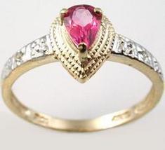Ring Pink Topaz - $180.00
