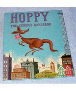 Vintage Childrens Wonder Book Hoppy the Curious Kangaroo 1952 - $5.95