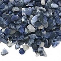 Sodalite Gemstone Embellishment UNDRILLED Medium Chips 50g (1.75 oz) - $3.06