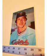 Sports Treasure Jerry Koosman Ball Card 5x7 Minnesota Twins Player 1980 ... - $9.49
