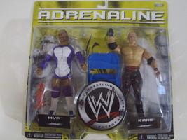 WWE Adrenaline Series 25 MVP & Kane wrestling f... - $25.00