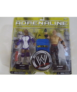 WWE Adrenaline Series 25 MVP & Kane wrestling figures ( WWF TNA ) - New - $25.00