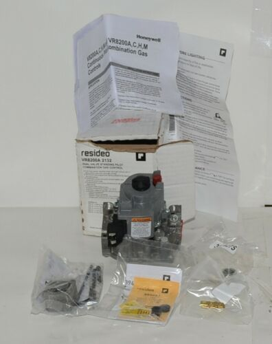 Honetwell Resideo VR8200A 2132 Dual Valve Standing Pilot Combination Gas Control