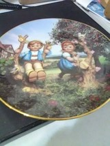 """M J Hummel Collector Plate - """"Apple Tree Boy and Girl"""" from Little Compa... - $9.15"""