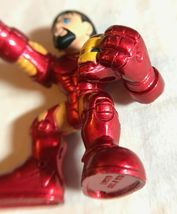 Marvel Super Hero Squad Iron Man Holding Helmet 2008 image 4