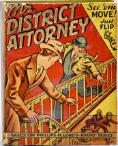1941 Whitman - Mr. District Attorney - Big Little Book - From Phillips L... - $49.99