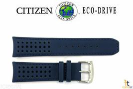 Citizen Eco-Drive At8020-03l 23mm Blu in pelle Cinturino Orologio H800-s... - $103.14