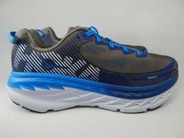 Hoka One One Bondi 5 Size 10 M (D) EU 44 Men's Running Shoes Gray Blue 1014757