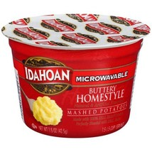 Idahoan Buttery Homestyle Mashed Potatoes Cup, 1.5 oz (Pack of 4) - $8.00