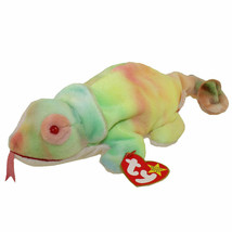 Ty Beanie Baby Rainbow The Chameleon NEW - $6.72