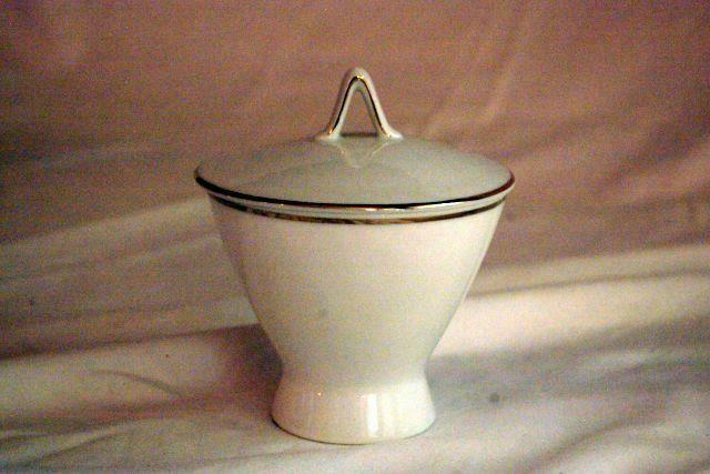 Primary image for Rosenthal 1977 Classic Platinum Covered Sugar Bowl