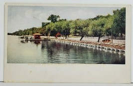 Minneapolis Minn Boat House and Shore Promenade Lake  Harriet c1905 Post... - $10.95