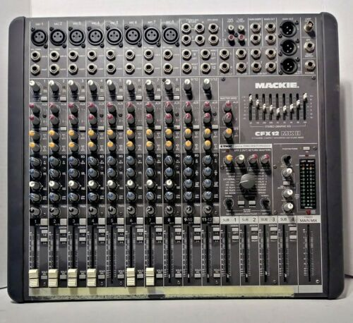 Primary image for Mackie CFX 12 MK II 12 Channel Integrated Live Sound Mixer For Repair