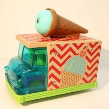 Fisher-Price Wooden Toys Sweet Sounds Ice Cream Truck Chimes Bell musica... - $11.87