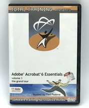 Adobe Acrobat 6 Essentials Volume 1 CD Total Training 2003 - $11.99