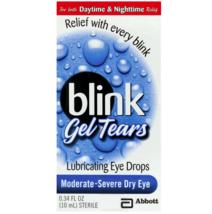 Blink Gel Tears Lubricating Eye Drops, 0.34 fl oz - $12.74