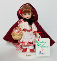 "1988 Effanbee Little Red Riding Hood Doll MV103 Story Book Series 8-1/2"" - $26.97"