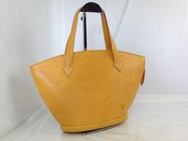 31418 Louis Vuitton Yellow Epi Genuine Leather Saint Jacques Handbag Bag... - $305.45