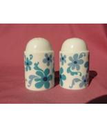 ROSENTHAL Porcelain China - BLUE FLOWER (duo shape) - SALT & PEPPER SHAKERS - $34.95