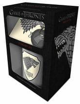 Game Of Thrones Stark Mug, Coaster and Keychain Gift Set - $12.79