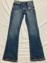 M59 NWT PAPER DENIM & CLOTH Slim Skinny Boot Cut Blue Jeans GIRLS 10  $62 - $19.77