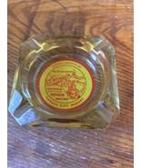 RARE CARSON CITY NUGGET  CENTENNIAL  LOGO AMBER/GOLD CARSON CITY glass A... - $13.95