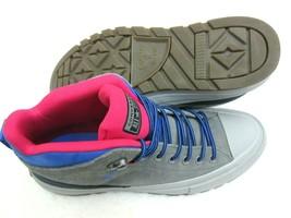 Converse Mens CTAS Street Boot Hi Hiking Casual Shoes Grey Blue Pink Size 12 - $64.34