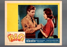 THE BIG SHOW-1961-LOBBY CARD-FN-/VF-DRAMA-DAVID NELSON-CAROL CHRISTENSEN... - $20.08