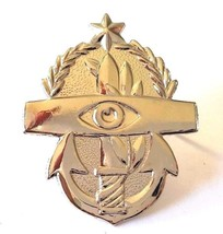 IDF Israel Army Navy Official Pin Badge SENIOR Radar Naval Command Controller - $6.71