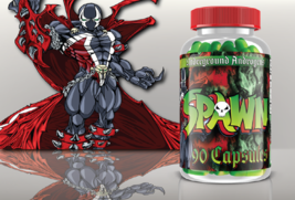 Anti-Hero Labs SPAWN Ultra Hardcore Lean Muscle Builder, 90 Capsules - $97.99