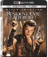 Resident Evil: Afterlife [4K Ultra HD + Blu-ray] - $11.95