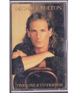 Michael Bolton Time Love Tenderness Cassette  - $8.00