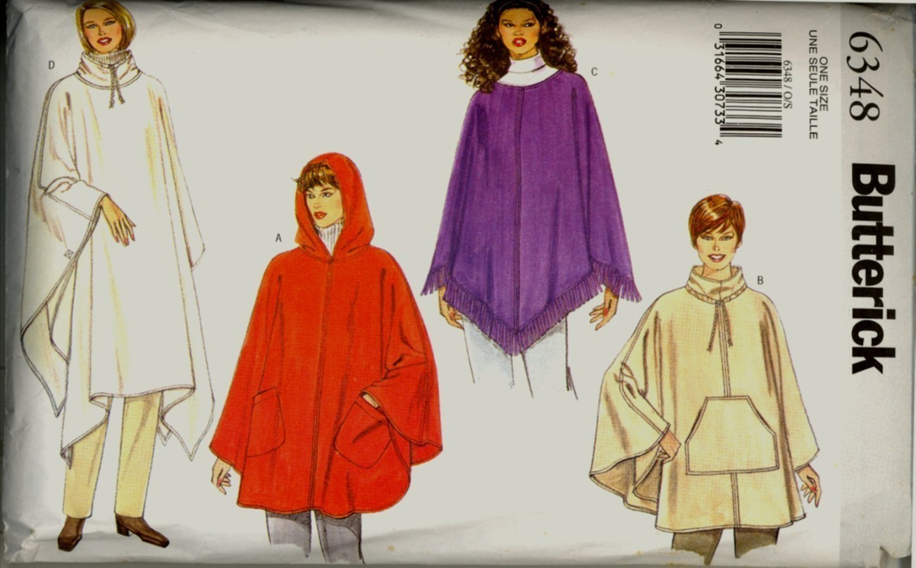 Auction 1085 b 6348 purple poncho one 1999