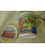 Comfort Queens Mug with Lid/Coaster, Pity Party - $8.00