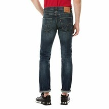 Levi's Strauss 501 Men's Cotton Original Fit Button Fly Selvedge Jeans 501-2402 image 2