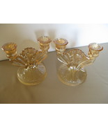 Vintage Jeannette Glass Iris and Herringbone Do... - $49.99