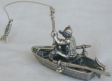 Fisherman miniature
