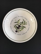 "Williams Sonoma --OLIVE Individual 9"" Pasta Bowl Olea Europaea--Portugal - $25.83"