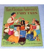 Childrens Wonder Book Hans Christian Andersen Fairy Tales 1952 - $5.95