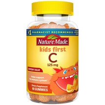 Nature Made Kids First Vitamin C Gummies, 60 Count - $6.60