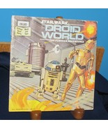STAR WARS DROID WORLD THE FURTHER ADVENTURES 1983 PICTURE BOOK GEORGE LUCAS - $14.36