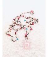Rainbow Pearl Gem Carrier Pouch Necklace - Mini Crystal Neck Amulet Bag ... - $25.19