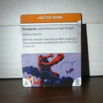 And Stay Down! F001 Dark Horse Heroclix BPRD - $0.99