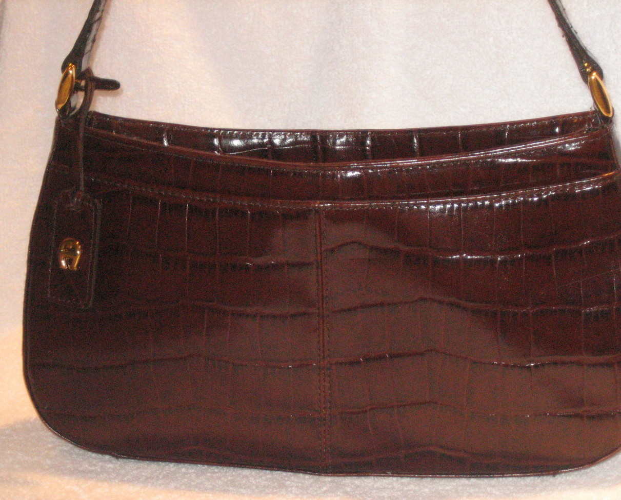 BRAND NEW Etienne Aigner Leather  Mahogany Color Purse Etienne Aigner